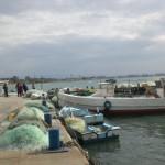 רשות על המזח לאחר ליל דייג