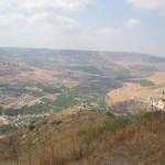 הירמוך והכפר מוחייבה