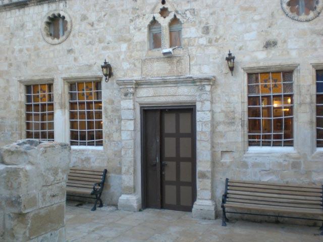 טיול בצפון -בית הכנסת הארי בצפת